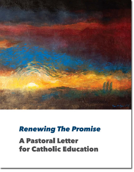 Renewing the Promise Letter Cover Page Image