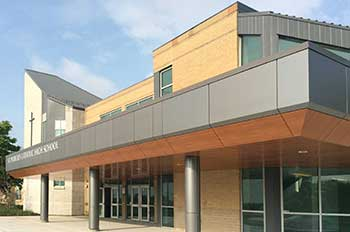 The New St. Patrick's Catholic High School Image