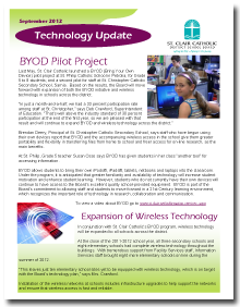 Technology Update Newsletter Thumbnail
