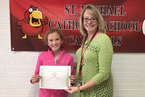 April Winner-Grace Herron