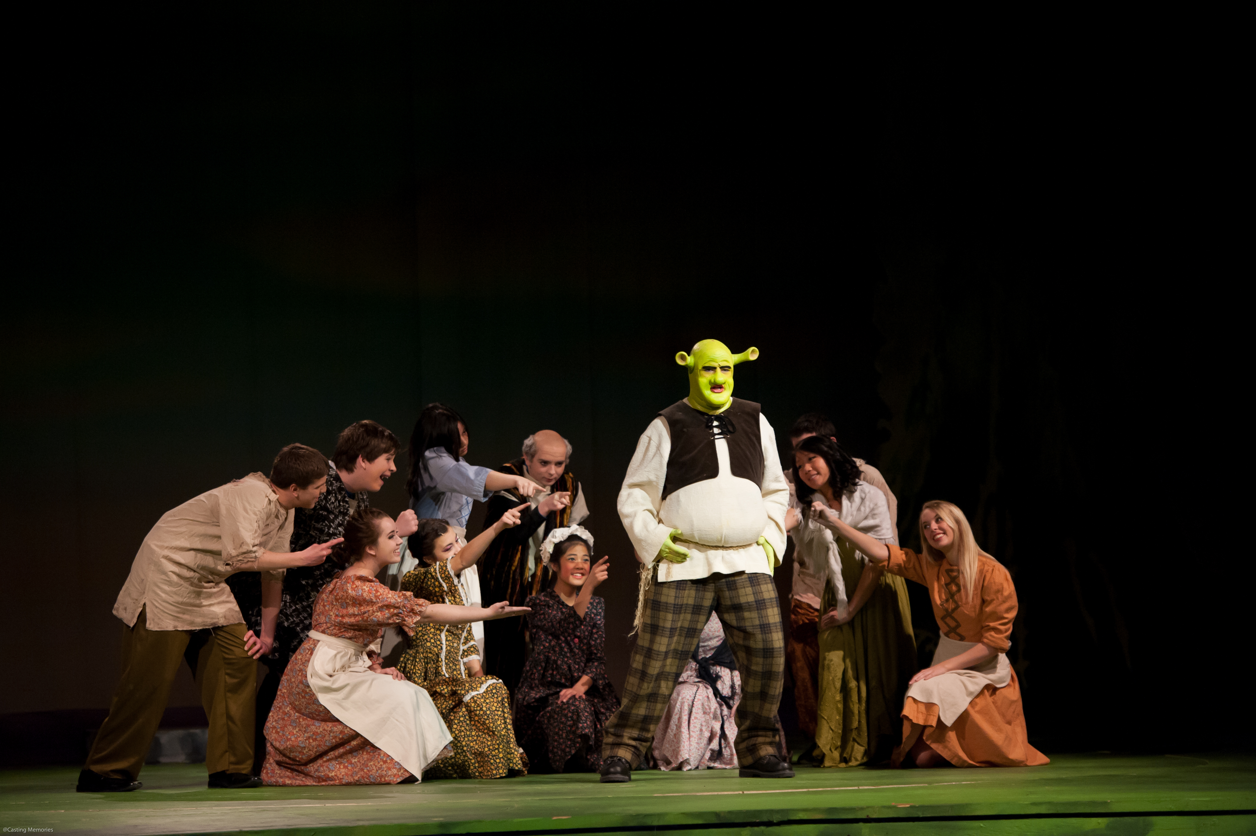 Shrek The Musical Ucc Theatre