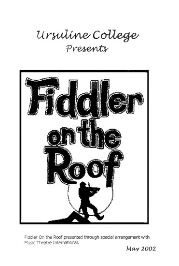 Fiddler On The Roof Ucc Theatre